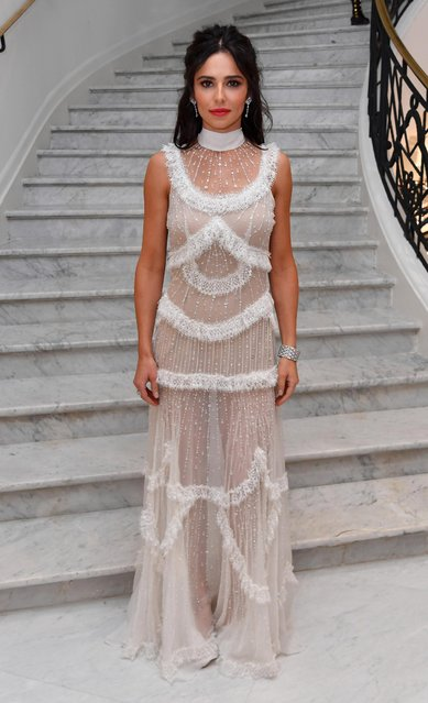 """Cheryl Cole is seen leaving the Martinez Hotel ahead of the """"Ash Is The Purest White (Jiang Hu Er Nv)"""" during the 71st annual Cannes Film Festival at on May 11, 2018 in Cannes, France. (Photo by Gareth Cattermole/Getty Images)"""