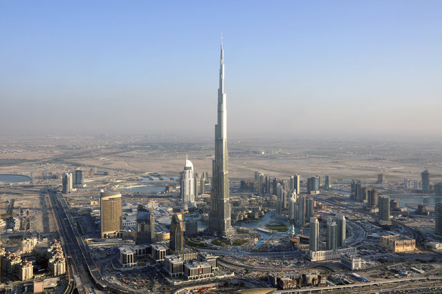 1: Dubai's Burj Khalifa is the tallest building in the world, but perhaps not for long. Saudi Arabia has announced plans to build a 1 kilometer (3,280 foot) tower into the sky, to be named the Jeddah Tower, scheduled for completion in 2020. The Burj Khallifa currently stands at 2,716 ft. (Photo by Matthias Seifert/Reuters)