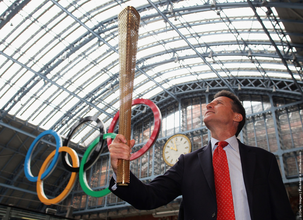 The Prototype Design For The London 2012 Olympic Torch Is Unveiled