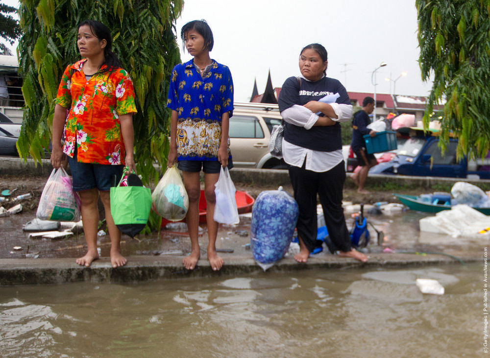 Floods In Thailand