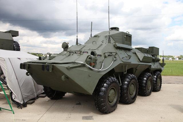 R-149 MA1 command vehicle
