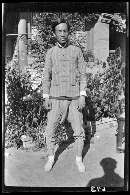 Charley. China, Beijing, 1917-1919. (Photo by Sidney David Gamble)