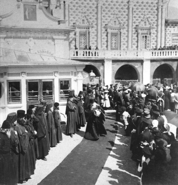 The Metropolitan who officiated at the coronation of Tsar Nicholas II in Moscow, May 1896.