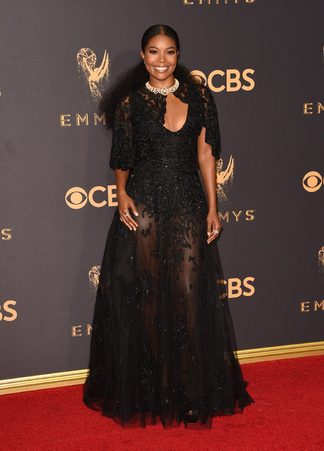 Actor Gabrielle Union attends the 69th Annual Primetime Emmy Awards at Microsoft Theater on September 17, 2017 in Los Angeles, California. (Photo by J. Merritt/Getty Images)
