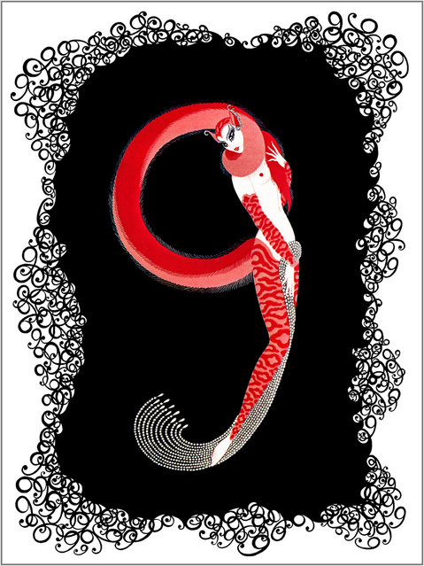 Romain de Tirtoff (Erte) – The Number Nine