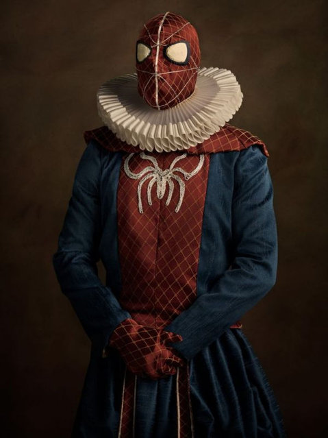 Elizabethan Superheroes And Star Wars Characters By Sacha Goldberger Part 3
