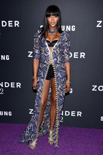 """Model Naomi Campbell attends the """"Zoolander 2"""" World Premiere at Alice Tully Hall on February 9, 2016 in New York City. (Photo by Dimitrios Kambouris/Getty Images)"""