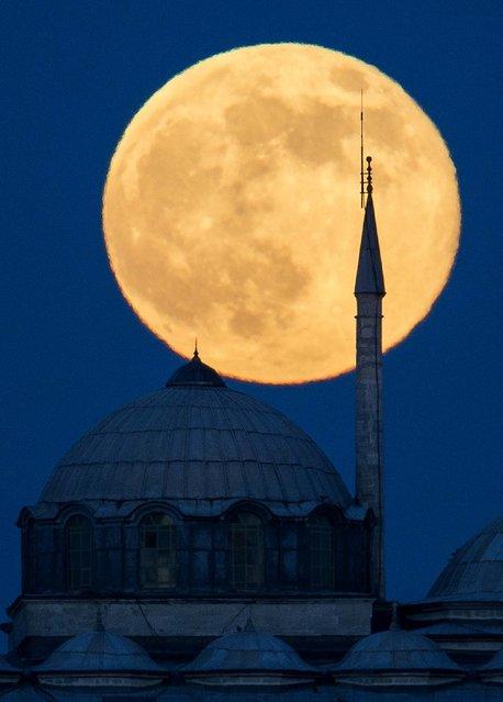 The Topkapi Palace in Istanbul, Turkey, on Sunday. (Photo by Gero Breloer/Associated Pres)