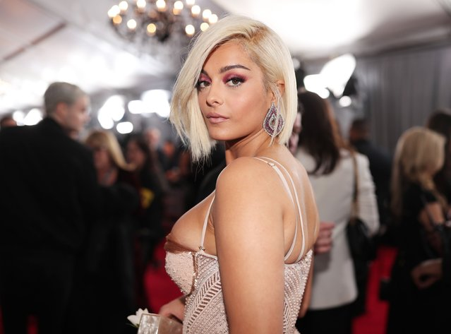Recording artist Bebe Rexha attends the 60th Annual GRAMMY Awards at Madison Square Garden on January 28, 2018 in New York City. (Photo by Christopher Polk/Getty Images for NARAS)