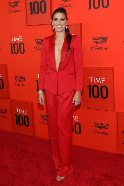 Alex Morgan attends the 2019 Time 100 Gala at Frederick P. Rose Hall, Jazz at Lincoln Center on April 23, 2019 in New York City. (Photo by Taylor Hill/FilmMagic)