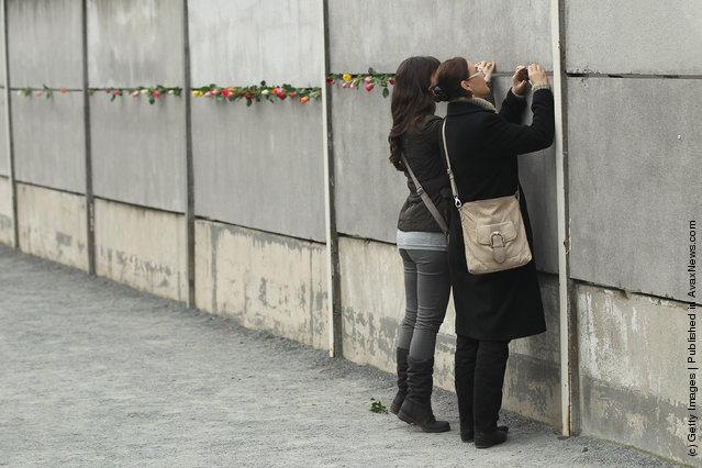 Berlin Marks 22nd Anniversary Of Berlin Wall Fall