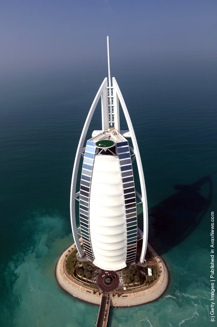 Rory McIlroy Shoot On Jumeirah Burj Al Arab