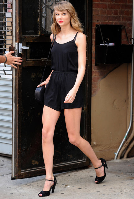 Taylor Swift Out And About In Soho, New York, NY, on June 14, 2014. (Photo by Ken Katz/Startraksphoto.com)