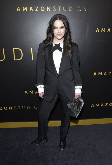 Emily Hampshire attends the Amazon Studios Golden Globes after party at The Beverly Hilton Hotel on January 05, 2020 in Beverly Hills, California. (Photo by Michael Tullberg/FilmMagic)