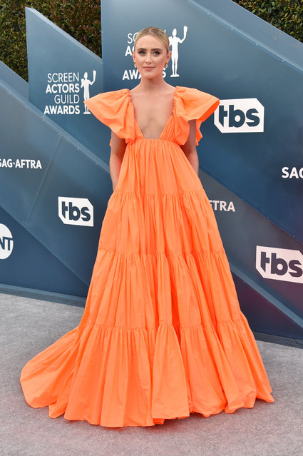 Kathryn Newton attends the 26th Annual Screen ActorsGuild Awards at The Shrine Auditorium on January 19, 2020 in Los Angeles, California. (Photo by Gregg DeGuire/Getty Images for Turner)