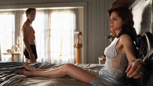 "Carla Gugino and Bruce Greenwood star in Netflix's ""Gerald's Game"". (Photo by AP Photo)"