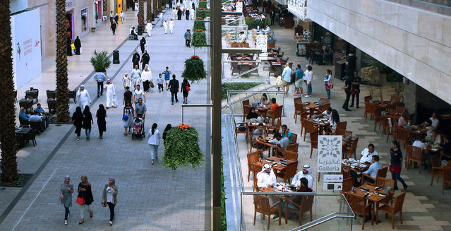 5: Kuwait City. Latest ranking: 81; Ranking five years ago: 90; Five-year index movement: 2.5%. Here: Avenues Mall, the country's largest shopping centre. (Photo by Yasser Al-Zayyat/AFP Photo)