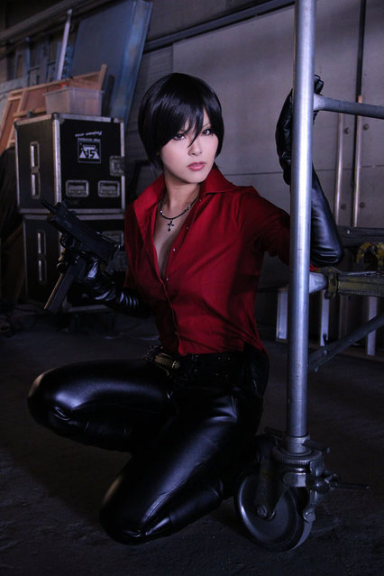 Cosplayandanimes: Ada Wong – Resident Evil 6. (Photo by Christian Zucchelli)