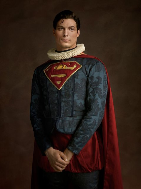 Elizabethan Superheroes And Star Wars Characters By Sacha Goldberger Part 2