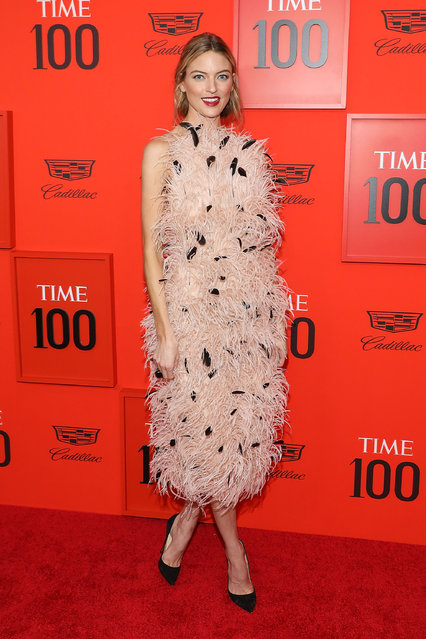 Martha Hunt attends the 2019 Time 100 Gala at Frederick P. Rose Hall, Jazz at Lincoln Center on April 23, 2019 in New York City. (Photo by Taylor Hill/FilmMagic)