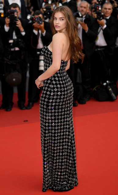 Barbara Palvin attends the 70th Anniversary of the 70th annual Cannes Film Festival at Palais des Festivals on May 23, 2017 in Cannes, France. (Photo by James Gourley/Rex Features/Shutterstock)