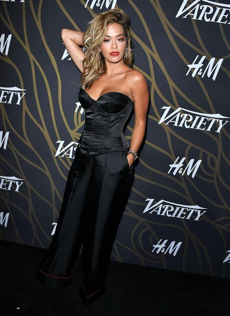Rita Ora arrives at the Variety Power Of Young Hollywood at TAO Hollywood on August 8, 2017 in Los Angeles, California. (Photo by Steve Granitz/WireImage)