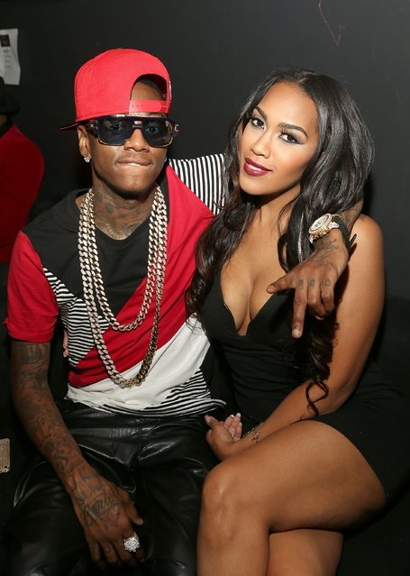 TV personalities Soulja Boy and Nia Riley attend the Love & Hip Hop: Hollywood Premiere Event on September 9, 2014 in Hollywood, California. (Photo by Jesse Grant/Getty Images for VH1)