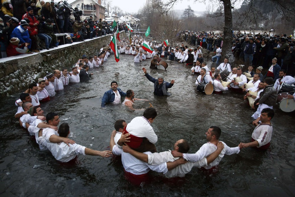 Epiphany Day in Bulgaria
