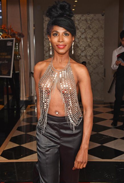 Sinitta attends the British LGBT Awards 2018 at the London Marriott Hotel, Grosvenor Square, on May 11, 2018 in London, England. (Photo by David M. Benett/Getty Images)