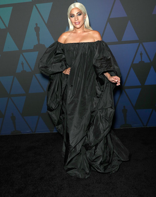 Lady Gaga attends the Academy of Motion Picture Arts and Sciences' 10th Annual Governors Awards at The Ray Dolby Ballroom at Hollywood & Highland Center on November 18, 2018 in Hollywood, California. (Photo by Frederick M. Brown/FilmMagic)