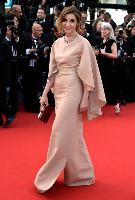 """Clotilde Courau attends the opening ceremony and premiere of """"La Tete Haute"""" (Standing Tall) during the 68th annual Cannes Film Festival on May 13, 2015 in Cannes, France. (Photo by Pascal Le Segretain/Getty Images)"""