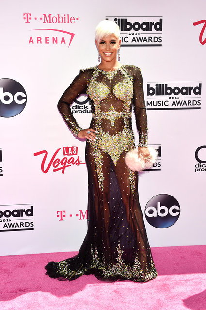 TV personality Sibley Scoles attends the 2016 Billboard Music Awards at T-Mobile Arena on May 22, 2016 in Las Vegas, Nevada. (Photo by David Becker/Getty Images for dcp)