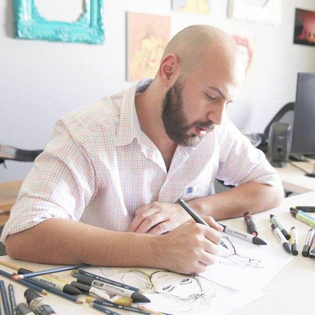 Fashion Illustrator Shamekh Bluwi
