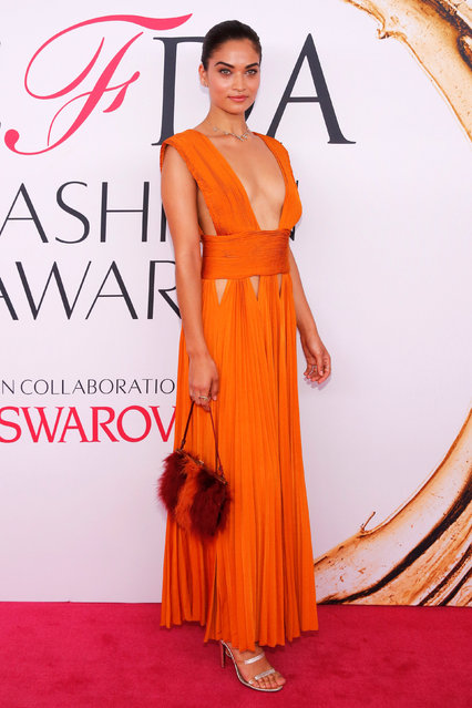 Model Shanina Shaik arrives for the 2016 CFDA Fashion Awards in Manhattan, New York, U.S., June 6, 2016. (Photo by Andrew Kelly/Reuters)