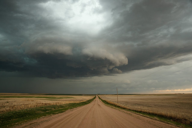 A supercell thunderstorm develops, May 8, 2017 in Elbert County outside of Limon, Colorado. With funding from the National Science Foundation and other government grants, scientists and meteorologists from the Center for Severe Weather Research try to get close to supercell storms and tornadoes trying to better understand tornado structure and strength, how low-level winds affect and damage buildings, and to learn more about tornado formation and prediction. (Photo by Drew Angerer/Getty Images)
