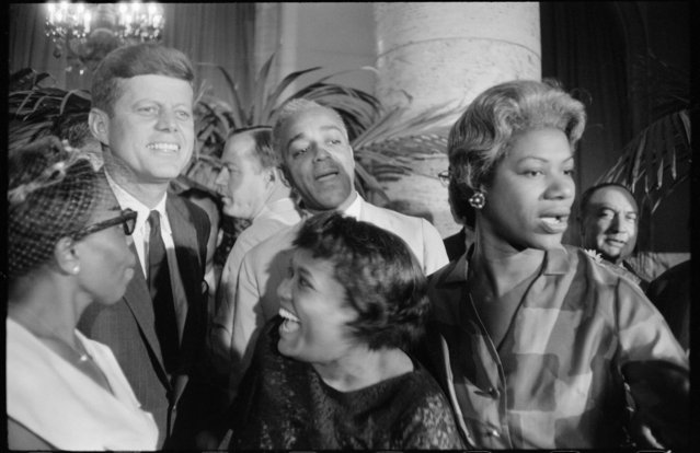 JFK, Democratic National Convention, Los Angeles, 1960. (Photo by Garry Winogrand/The Estate of Garry Winogrand, courtesy Fraenkel Gallery, San Francisco)