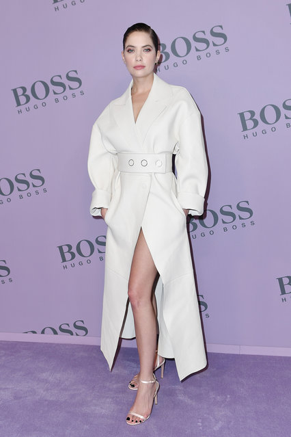 Ashley Benson attends the Boss fashion show on February 23, 2020 in Milan, Italy. (Photo by Jacopo Raule/WireImage)