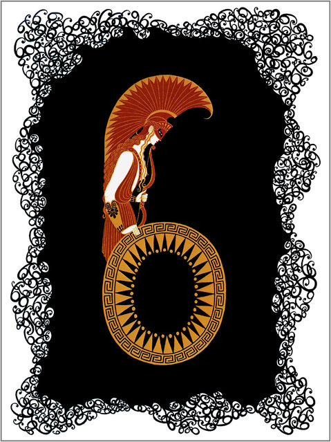 Romain de Tirtoff (Erte) – The Number Six