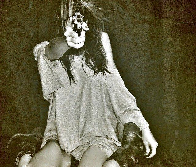 """""""Gangstaaaaaaaaa......"""". (Photo by nikkidelmont)"""