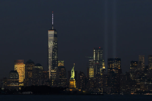 5: New York's One World Trade Center. Height: 1,776 ft. (Photo by Eduardo Munoz/Reuters)