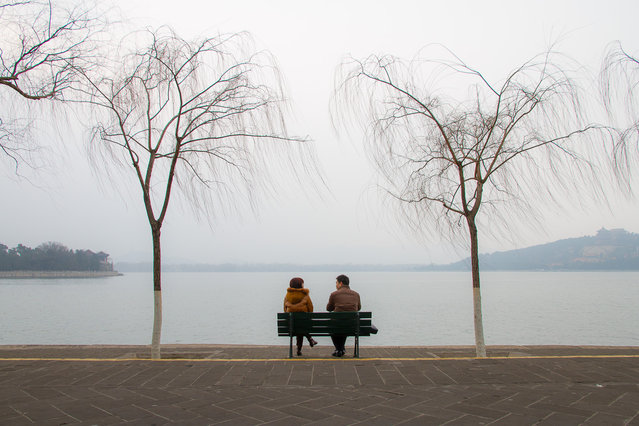 """Love is all around"". When i was walking in Summer Palace in Beijing... i saw this scene... and I could not help but photograph. (Photo and caption by Federico Senesi/National Geographic Traveler Photo Contest)"