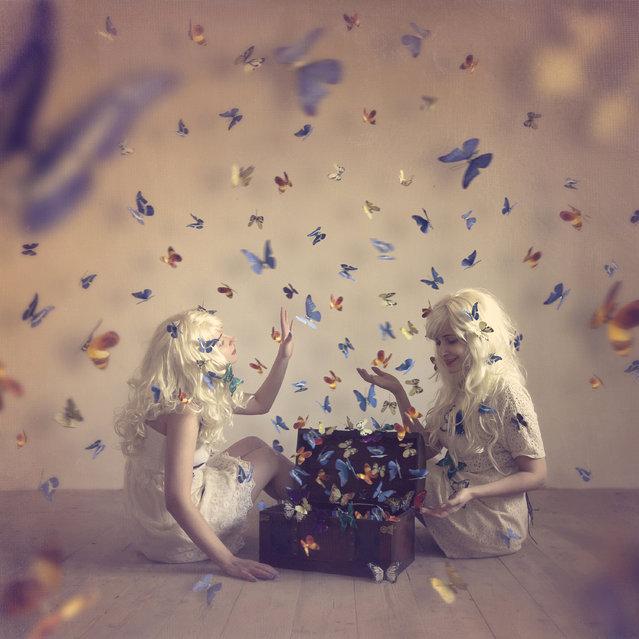 """Butterflies"". (Photo by Luiza Elena Boldeanu/Tina Genovia Obreja)/Sony World Photography Awards/WENN.com)"