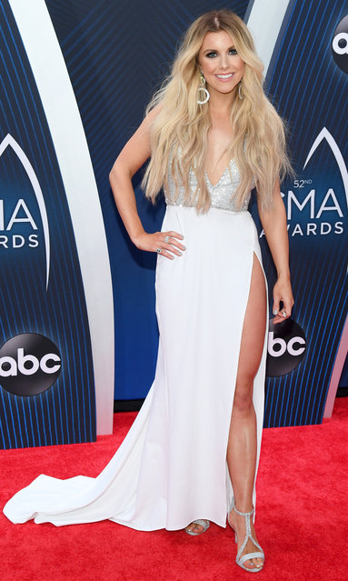 Singer-songwriter Lindsay Ell attends the 52nd annual CMA Awards at the Bridgestone Arena on November 14, 2018 in Nashville, Tennessee. (Photo by Jason Kempin/Getty Images)