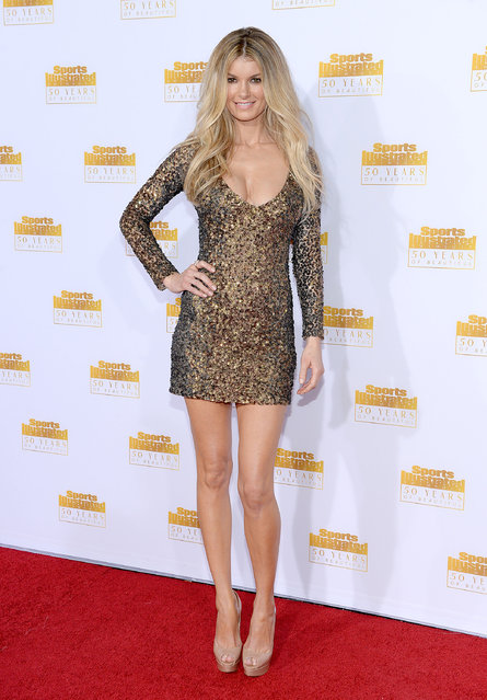 Model Marisa Miller attends NBC and Time Inc. celebrate the 50th anniversary of the Sports Illustrated Swimsuit Issue at Dolby Theatre on January 14, 2014 in Hollywood, California. (Photo by Dimitrios Kambouris/Getty Images)