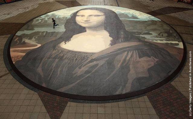World's Biggest Copy Of Mona Lisa
