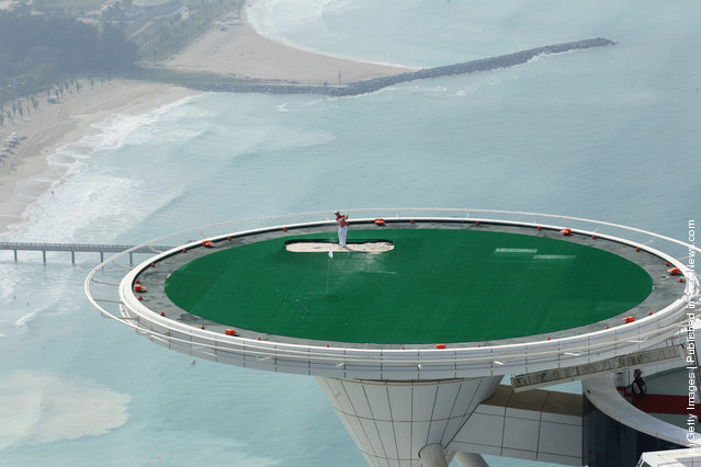 Rory McIlroy Shoot On Jumeirah Burj Al Arab