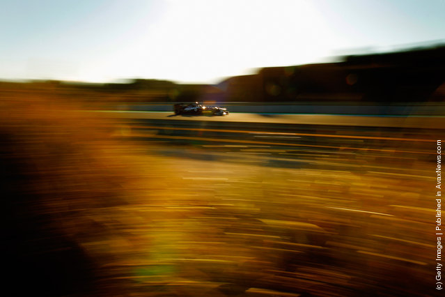 Bruno Senna of Brazil and Williams drives during day four of Formula One winter testing at the Circuito de Jerez