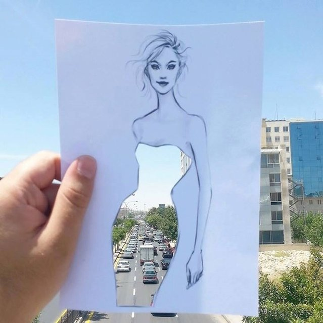 Fashion Illustrator Shamekh Bluwi