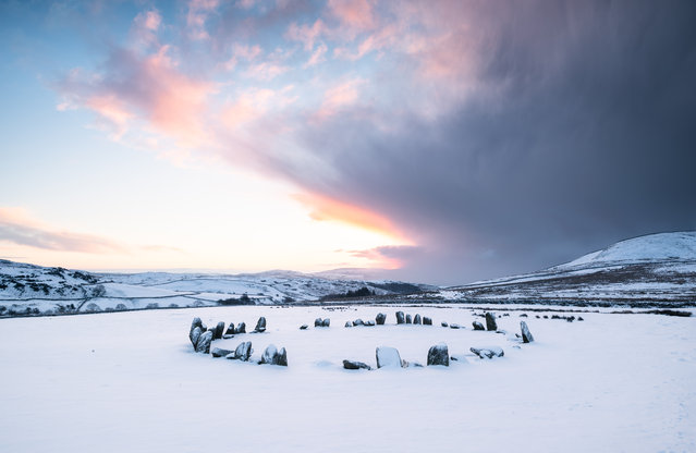 Historic England shortlisted: Swinside stone circle by Alex Wrigley. (Photo by Alex Wrigley/Historic Photographer of the Year Awards 2019/The Guardian)