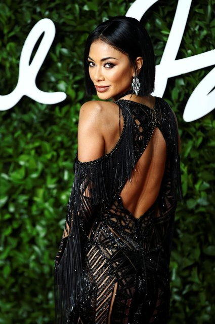 Singer Nicole Scherzinger arrives at The Fashion Awards 2019 held at Royal Albert Hall on December 02, 2019 in London, England. (Photo by Lisi Niesner/Reuters)